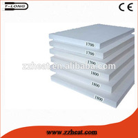 1800C Thermal Insulation Board T-Long al2o3 lining Refractory Ceramic Fibre Brick Fireproof Insulation Board