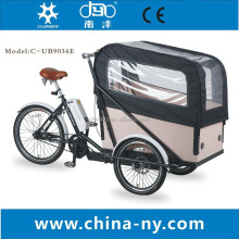 cheap tricycle cargo bike with 8F mid-engine from china