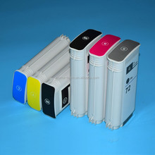 6colors*130ml compatible ink cartridge for hp 72 cartridges for hp designjet t610 t620 printers