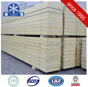 Cheapest refrigerator polyurethane insulation sandwich roof panel