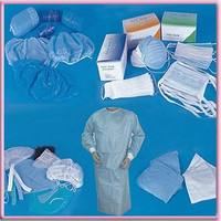 medical disposable smms nonwoven fabric for surgical gowns and drapes