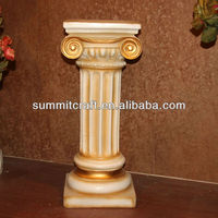 Resin european interior decorative pillar design