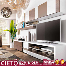 Wholesale furniture Easy Installed wall tv cabinet design for living room