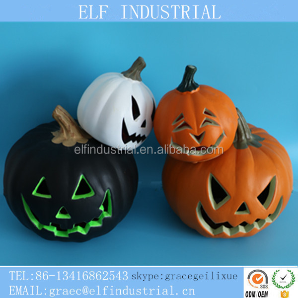 Popular import items led club decorative flashing halloween plastic pumpkin