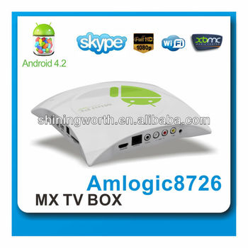 full hd 1080p media player HD8D android 4.2 OS support 2.5 inch sata,can hang on the wall