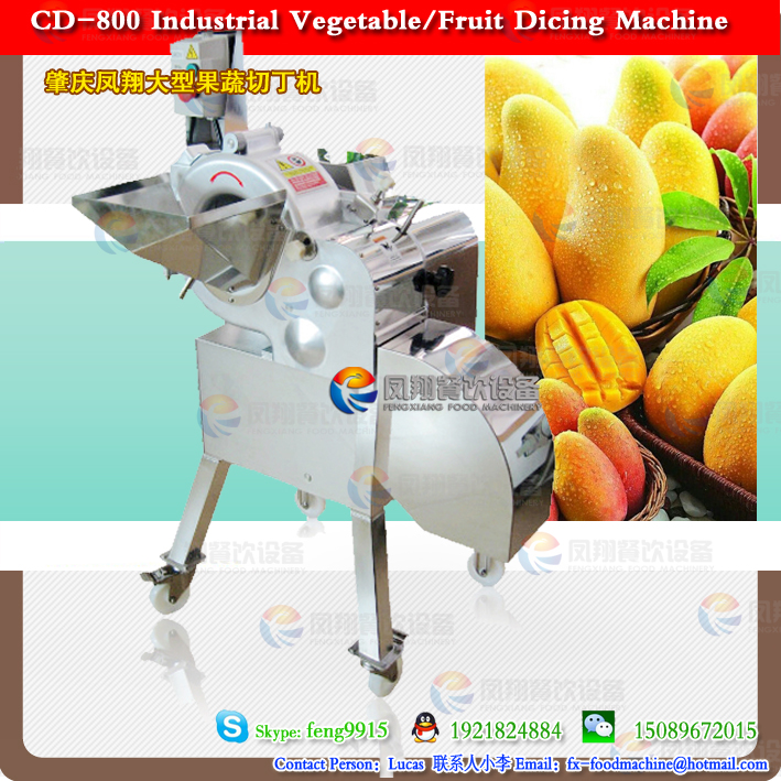 CD-1500 Vegetables and Fruit strips Machine/Vegetable Cube Cutter Machine/Fruit Dicer