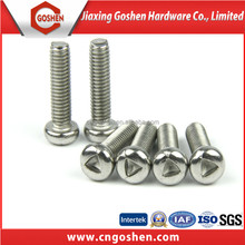 stainless steel triangle drive pan head anti-theft screws