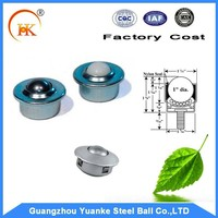 Yuanke Steel Ball Transfer Unit With or Without Thread