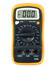 Low price 838L dt838 digital multimeter