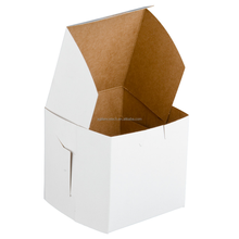 2015 High Quality Recyclable Custom Foldable Mini Paper bag Baolly Cupcake Boxes