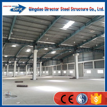 china prefabricated large span light frame steel workshop layout