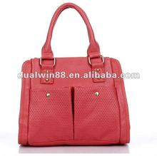 Small quantity wholesale PU bag latest fashion lady handbag