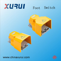 15a 250v foot switch for press brake / heavy duty foot switch / IP65 drill machine foot switch