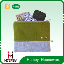 Homey hot selling top quality low price durable utility zipper custom microfiber eyeglasses bag/cell phone pouch
