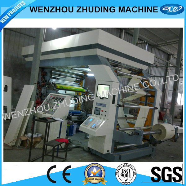Wenzhou stack type flexo printing machine