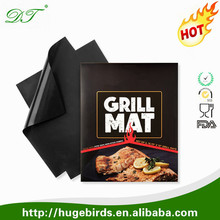 Amazon Wholesale Barbecue Utensil fire retardant grill mat for Gas, Charcoal