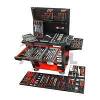 542Pcs Household Repair Metal Tool Cabinet