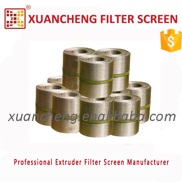 Plastic and Rubber using Melt Extrusion Stainless Steel Filter Screen