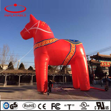 inflatable decoration cartoon, outdoor inflatable giant horse model