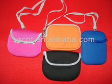 Neoprene Handstrap Small Digital Camera Bag Color Randomly