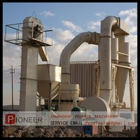 Easy operation three-rings ultra-fine mill/ carbon black powder grinding mill