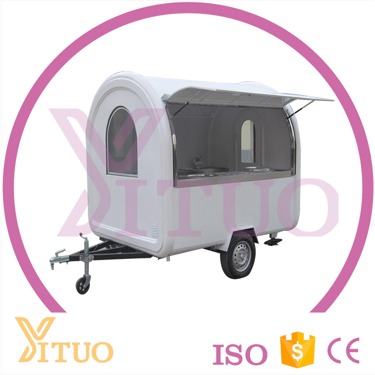 Most Popular Used In Food Cart/Trailer/Truck Rolled Fried Ice Cream Machine
