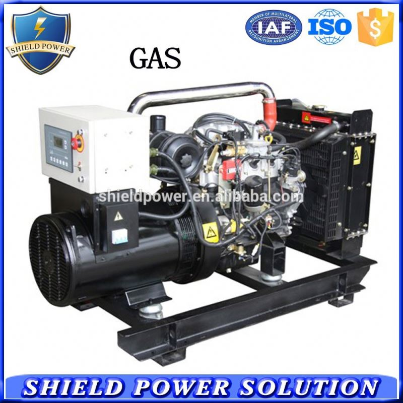 40kw biogas generator with chp and desulfurizer
