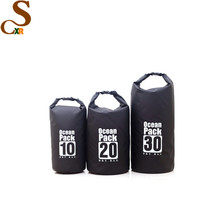 custom Logo waterproof ocean pack outdoor pvc small swimming tarpaulin drybag 20l 30l dry bag waterproof for sports sack
