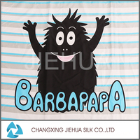 Hot new products micro polar cartoon fleece fabric for baby bed sheet