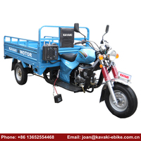 China Motorcycle Price 200cc 250cc Engines Two Seats Adult Tricycle Motorcycle 3 Wheel Car for Sale