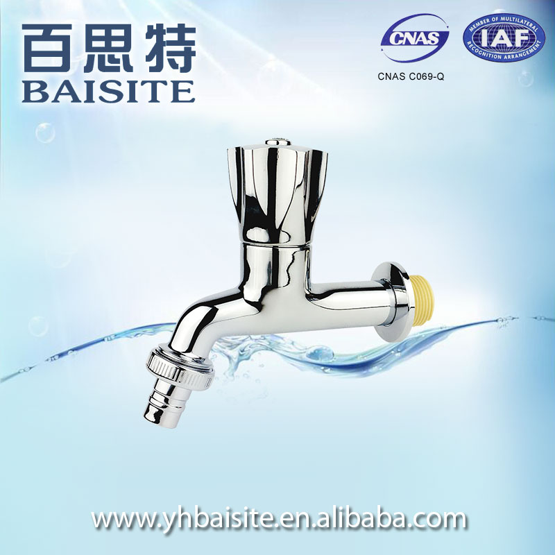 Professional Chrome plated water tap plastic bibcock pvc water faucet
