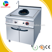 Stainless steel one burner gas cooker /gas cooker with cabinet base