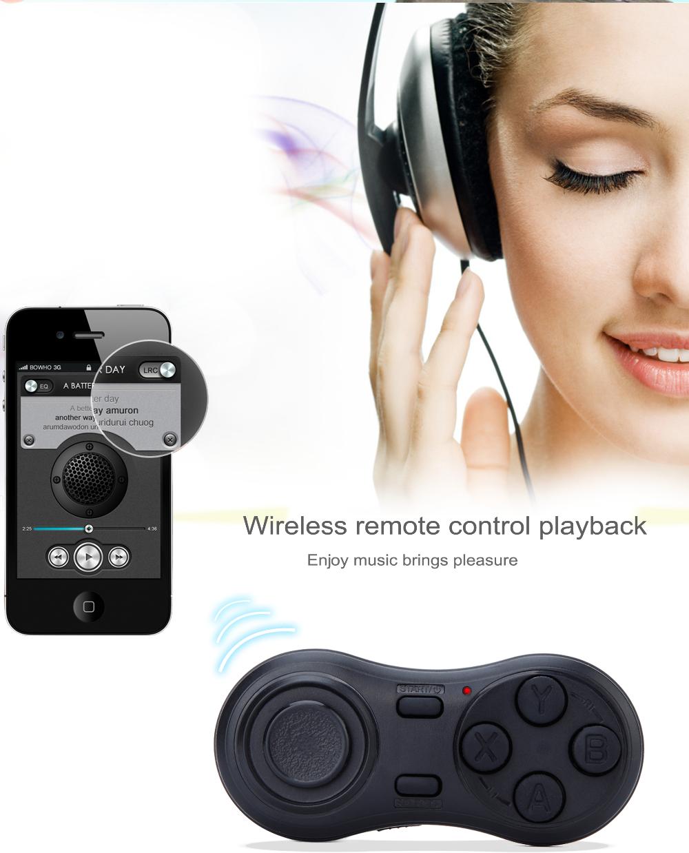 Mini Plus 3d Glasses Type Bluetooth Vr Remote Control For Virtual Box 6