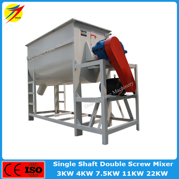 Horizontal poultry farming equipment machine for mixing