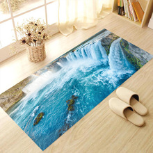 2017 China online store 3D mural wallpaper / 3D wall stick for home floor decoration