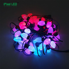 New Product Red Led Light Christmas For Party Decoration,Smd 5050 Led Pixel Christmas String Lights
