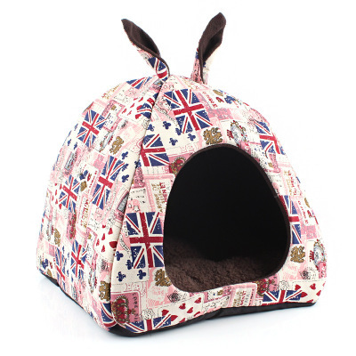 Detachable the latest pet nest rice word dog house dog kennel pet supplies