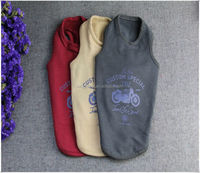 Europe simply plain color pet clothing dog clothes