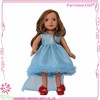 "18 inch doll clothing wholesale doll clothes 18"" blue dress american doll clothing"