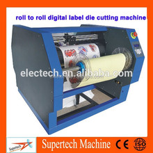 Digital label die cutting machine,high speed rotary label die cutting machine for roll adhesive label paper