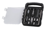 22pcs mini popular tool kit/combination tool set/ cheap bicycle mini repair multi tool kits set with box