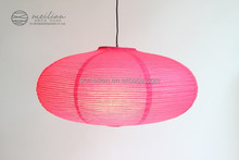 Oval coloful paper lanterns for wedding ideas