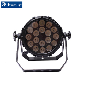 Guangzhou supplier led light waterproof long life time 18*10w 4 in 1 LED par light for sale