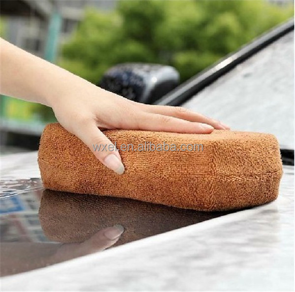 microfiber car wash sponge car cleaning sponge