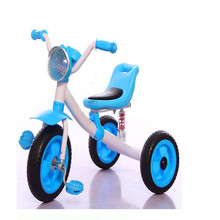 2017 hot children tricycle with air tire,cheap kids 3 wheel pedal car baby tricycle