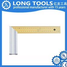 Custom tailor printable aluminium angle ruler made in china