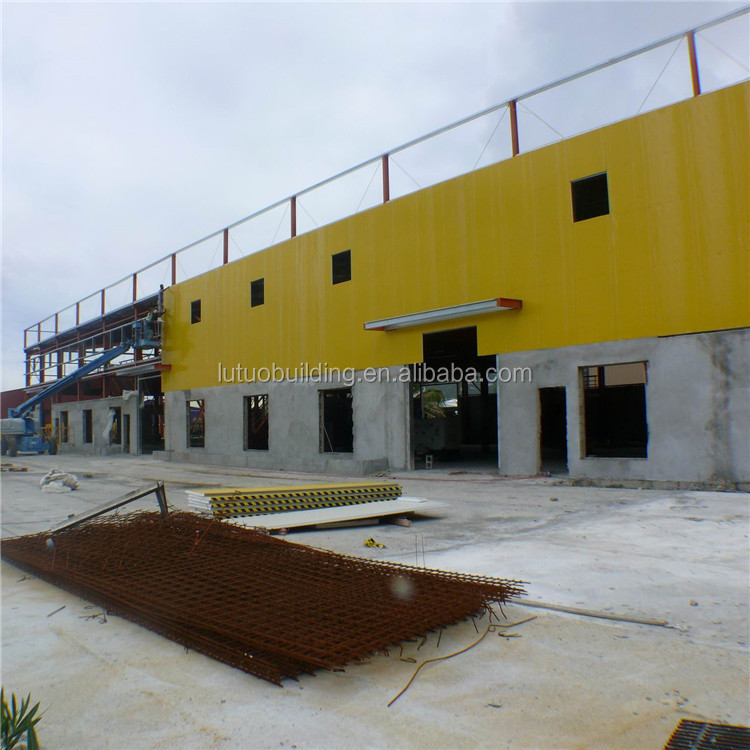 concrete prefabricated steel frame house steel warehouse structure
