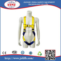 color full 5 point safety harness belt for construction