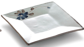 Japanese style square ceramic plate with excellent price