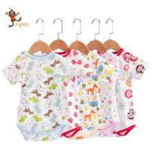 PGCC4962 Wholesale Factory Price 100% Cotton Custom Printed Baby Clothes Made In China
